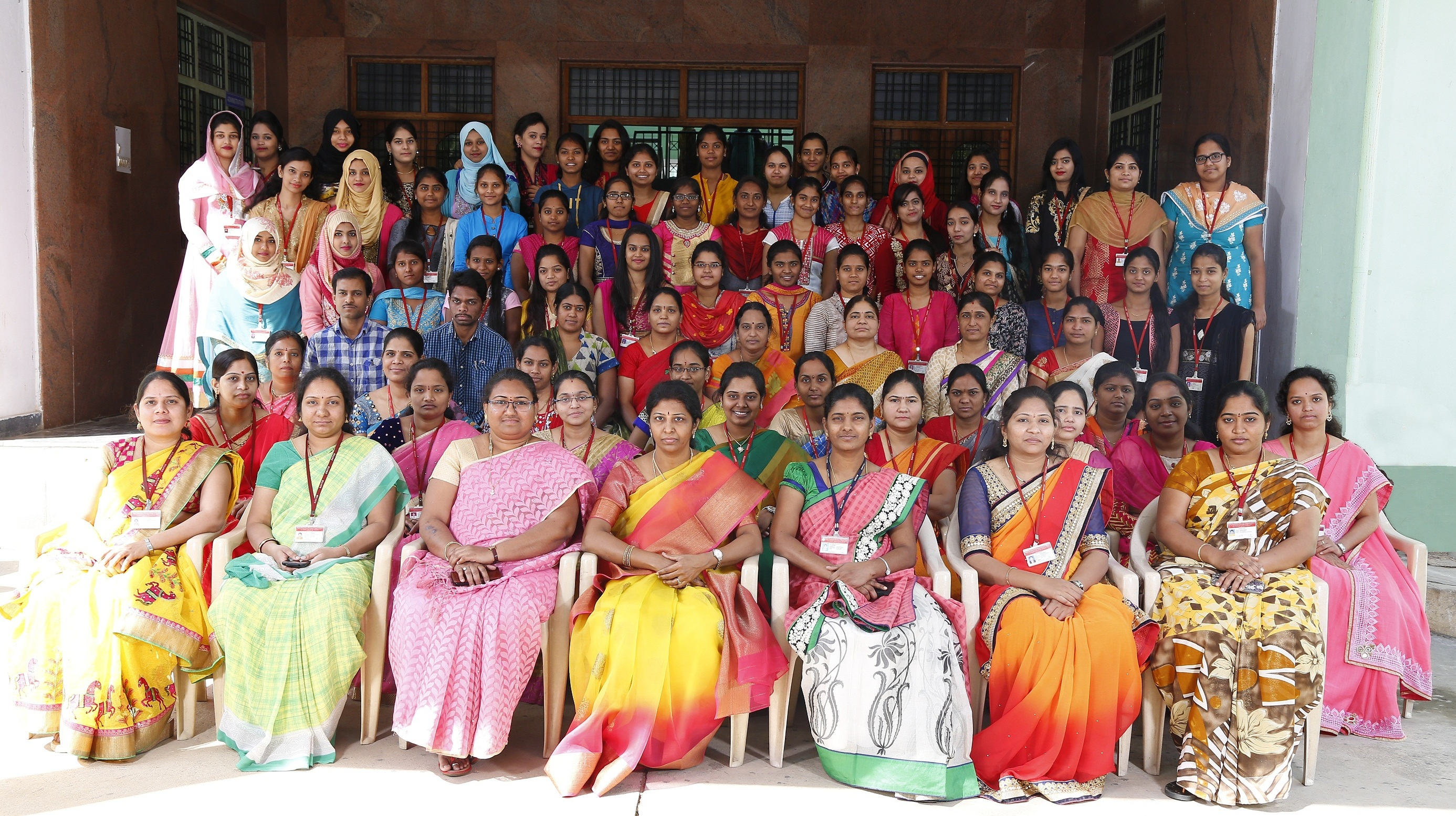 Group Photo with IV year out going batch